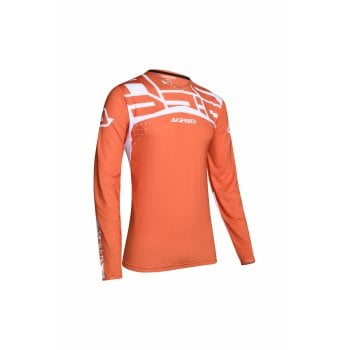 Acerbis Adults X-Flex Andromeda Jersey - Orange/ White