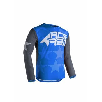 Acerbis Adults Starway Jersey - Blue/ Grey