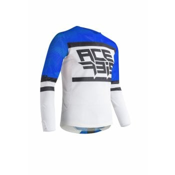 Acerbis Adults Helios Jersey - Blue/ White