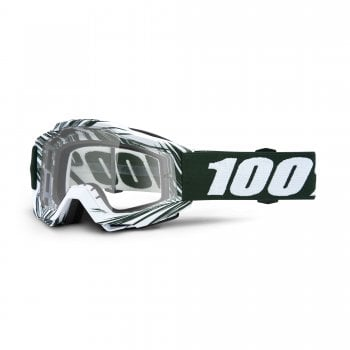 100% Adults Accuri Goggles - Bali With Clear Lens