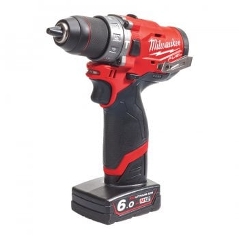 Milwaukee M12 Fuel™ Sub Compact 2-Speed FPD-602X Percussion Drill Kit