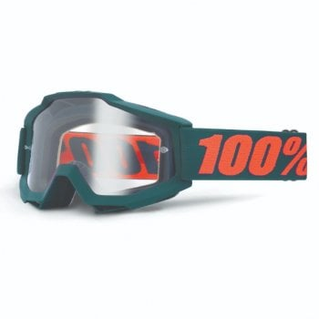 100% Accuri Goggles - Virgo With Clear Lens