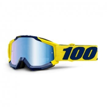 100% Adults Accuri MX Goggles - Supply/ Blue Mirror Lens