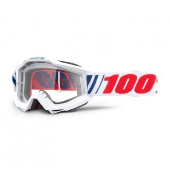 100% Youth Accuri Goggles AF066/ Clear Lens