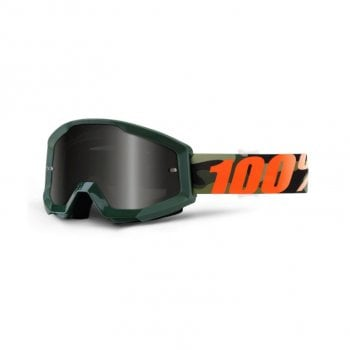 100% Adults Strata Sand Goggles Huntsitan/ Smoke Lens