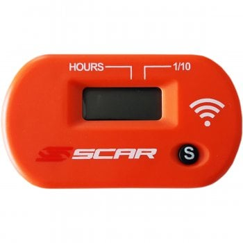 Scar Wireless Vibration Sensor Hour Meter - Orange