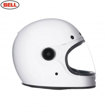Bell 2020 Adults Cruiser Bullitt DLX Helmet - Gloss White