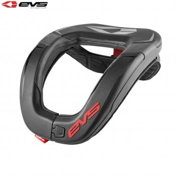 EVS Adults R4 Neck Protector - Black/Red