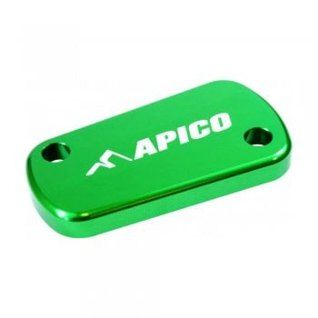 Apico Rear Brake Cover To Fit Suzuki RM/RMZ/KX/KXF 03-17 GREEN (R)
