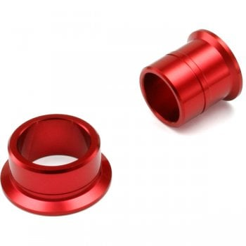 DRC Front Wheel Spacers - Honda CRF250 2004-17, CRF450 2004-16 - Red