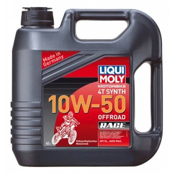 Liqui Moly 4 Stroke Fully Synthetic Offroad Race Oil - 10W-50 - 4L
