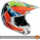 Adults Verge Tracer MX Helmet Tracer - Multicolour