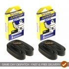2 x Air Stop Butyl Inner Tubes With 40MM Presta Valve- 700 X 18-25c