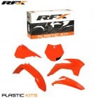 Plastics Kit - KTM (Orange Full) SX85 13>On (5 Pc Kit) w/Left Airbox Cover