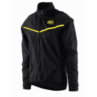 Corridor Stretch Windbreaker - Black/ Yellow