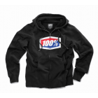 Adults Official Zip Hooded Sweatshirt - Black