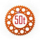 Rear Sprocket - KTM SX65 2004-On - Orange 50T