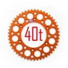 Rear Sprocket - KTM SX50 2009-13 - Orange 40T