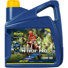 Putoline N-Tech Pro R+ Off Road Oil - 10w40 - 4 Litre