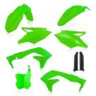 Full Plastics Kit - Kawasaki KXF450 2016-17 - Flo Green