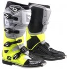 Adults SG12 MX Boots - Grey/ Yellow/ Black