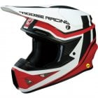 Adults F.I Session MIPS Helmet - White/ Red