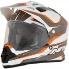 Adults FX-39DS Veleta Adventure Helmet - Orange