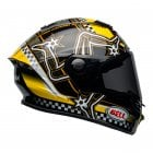 2020 Adults Star DLX MIPS Helmet - IOM Black/Yellow