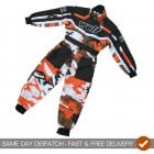 Kids Cub Race Suit - Orange Camo