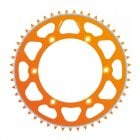 Evolite Rear Sprocket To Fit KTM/HUSA/HUSKY SX/EXC 125-620 90-17, TE/TC/FE/FC 00-17 46T - Orange
