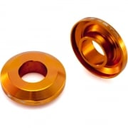 Fast Change Rear Wheel Spacer To Fit KTM SX125 / 250 & SXF250 / 350 / 450 - Orange