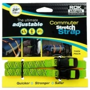 LD Adjustable Luggage Straps - Green Reflective - 12mm x 720mm