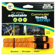LD Adjustable Luggage Straps - Orange Reflective - 12mm x 720mm
