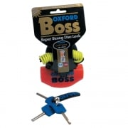 Boss Universal Motor Bike And Scooter Disc Lock - Orange