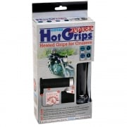 Hotgrips Cruiser Heated Motorcycle Grips with Chrome Switch