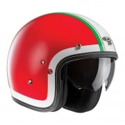 FG-70S Heritage MC1 Open Face Helmet - Red