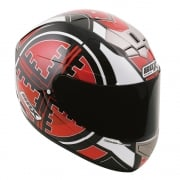 BX-1 Full Face Helmet - Scope Red
