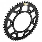 Rear Sprocket - Kawasaki KX 125/ 250 1980-2008, KXF 250/450F 2004-17 - Black - 51T