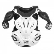 Adults Fusion 3.0 Neckvest Armour And Neck Brace - White