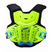 Junior 2.5 Kids Chest Protector - Lime/Blue
