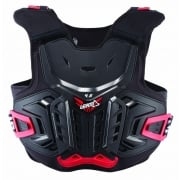 4.5 Junior Kids Chest Protector - Black/Red