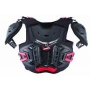 Junior 4.5 Pro Chest Protector - Black/Red