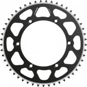 Radialite Rear Sprocket To Fit KAWASAKI KX125/250 80-08, KX250F/450F 04-17 49T BLACK