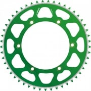 Radialite Rear Sprocket - Kawasaki KX125/250 1980-2008, KX250F/450F 2004-19 - Green/ 49T