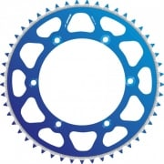 Radialite Rear Sprocket To Fit KAWASAKI KX125/250 80-08, KX250F/450F 04-17 50T BLUE