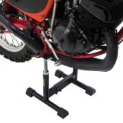 Vintage MX Offroad Bike Adjustable Stand - Black