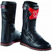 Adults Tech Comp Trials Boots - Black/ Red