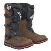 Youth/ Kids Cub Trials Boots - Brown