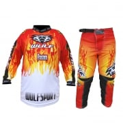Firestorm Kids Youth Motocross Pants And Jersey Kit