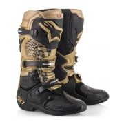 Adults Tech 10 Ltd Edition Aviator Boots - Black/ Gold